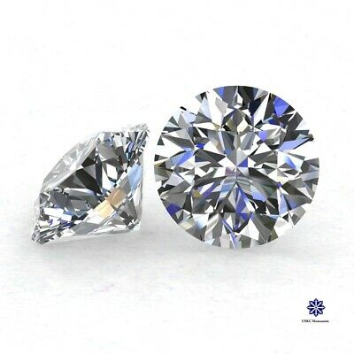 US seller Fast shipping 6.5mm DEFcolor Lab Moissanite Loose stone Round