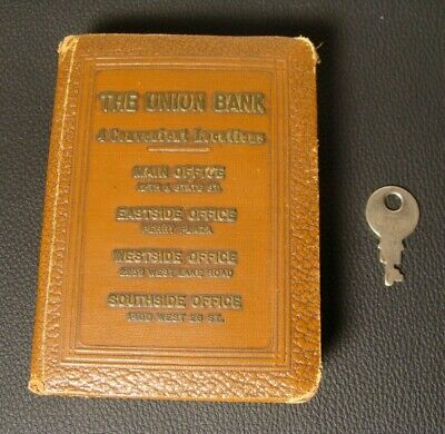 Vintage Book Bank THE UNION BANK BOOK OF THRIFT VIII FEDERAL DEPOSIT INS. CORP.