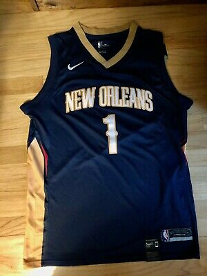 New Orleans Pelicans Zion Williamson Jersey Home Navy Blue
