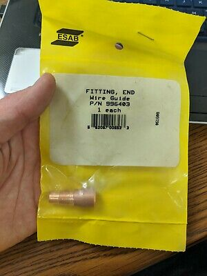 ESAB 996403 End Fitting For ST-16/21 MIG Gun, WIRE GUIDE