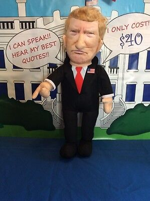 Donald Trump Talking Doll Speaks his  Favorite Quotes 2020