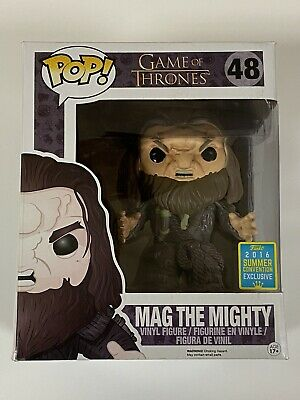 Funko Pop #48 - Game Of Thrones - Mag The Mighty - 2016 Convention Exclusive