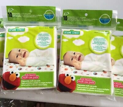 Neat Solutions Tidy Topper Multi-Use Pads 40 Total Pads (4x 10ct Packs) NEW