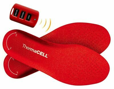 ThermaCell Heated Insoles Shoe Boot Foot Warmer Rechargeable XX Large THS01-XXL