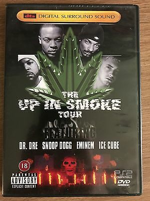 Up in Smoke Tour DTS DVD Hip Hop Concert w/ Ice Cube Eminem Dr Dre Snoop Dogg