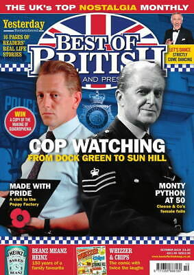 Best Of British Cop Watching Dock By Monty Python Issue 279 Oct 2019 Magazine W3