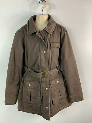 Girls Marks&Spencer Khaki Casual Long Light Weight Jacket  Kids Age 11/12 Years