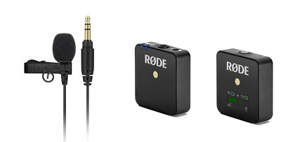 Rode Wireless GO Compact Wireless Microphone with Rode Lavalier GO Mic