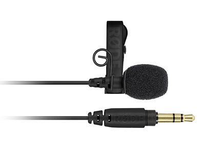 Rode Lavalier GO Broadcast-Grade Microphone with 3.5mm TSR Jack