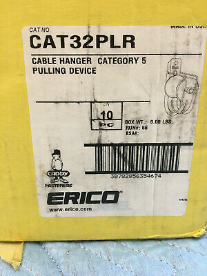 Erico Caddy CAT32PLR Cable Hanger Category 5 Pulling Device, Box of 9