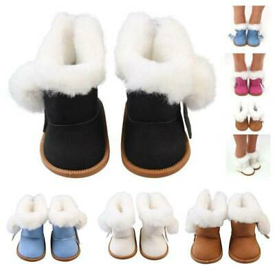 Winter Glitter Doll Shoes For 18 Inch American Doll Accessory BabyGirl's Toy HOT