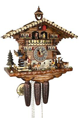 Hönes -heidi 43cm- 86214T Cuckoo Clock Original Black Forest Real Wood