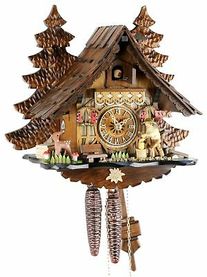 Holzhacker 32cm- Cuckoo Clock Original Black Forest Cuckoo Clock Ec