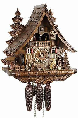 Eble -holzhacker 46cm- 24143 Cuckoo Clock Original Black Forest Echth