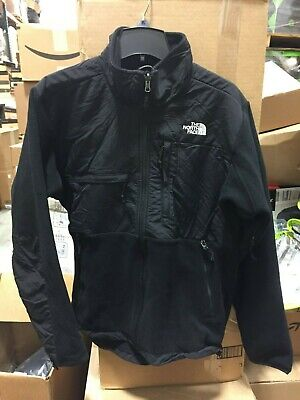 The North Face Men's Denali Fleece Full Zipped Jacket Recycled TNF Black MEDIUM