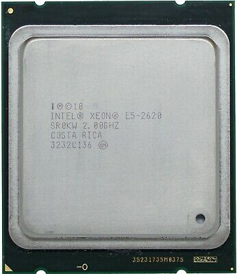 SR0KM Intel Xeon E5-2630L 6-Core 2.0GHz//15MB 7.2 GT//S QPI LGA2011 Processor CPU