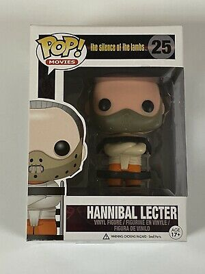 Funko Pop - The Silence Of The Lambs - Hannibal Lecter - Anthony Hopkins - #25