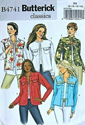 OOP BUTTERICK 5187 Misses Capes Jacket /& Cover-up PATTERN 8-10-12//14-16-18 UC