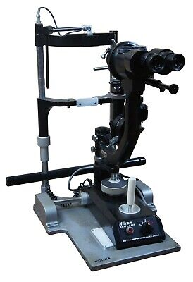 Nikon Slit Lamp Tonometer No 55316 Nippon Kohaku Oppthalmology Eye Exam Equip