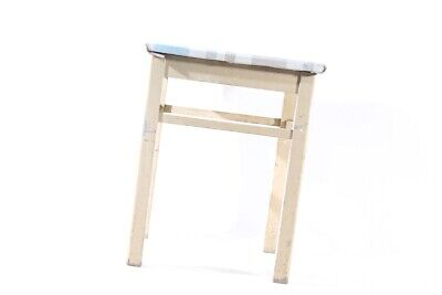 Old Wood Stool Folding Vintage Retro Design Iconic Chair Wooden Kitchen