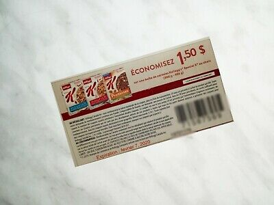 SAVE on  KELLOGG'S SPECIAL K CEREAL Products Coupons - 10x $1.50