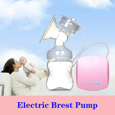 Electric Breast Pump Double Suction Baby Feeder Pumps Bottle Moms Milk Extractor