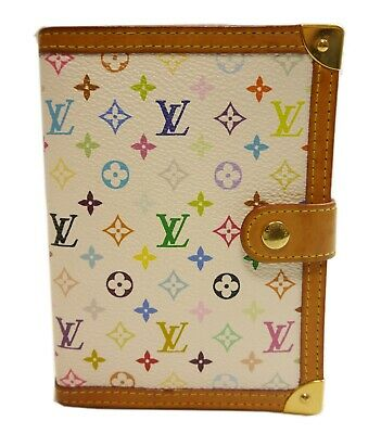 Authentic LOUIS VUITTON Agenda PM notebook cover PVC #10709