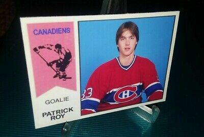 Montreal Canadiens Patrick Roy 1974-75 Inspired ACEO Card Blank Back