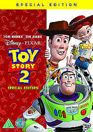 Toy Story 2 (DVD, 2010) Charity Sale D12-19 #CE