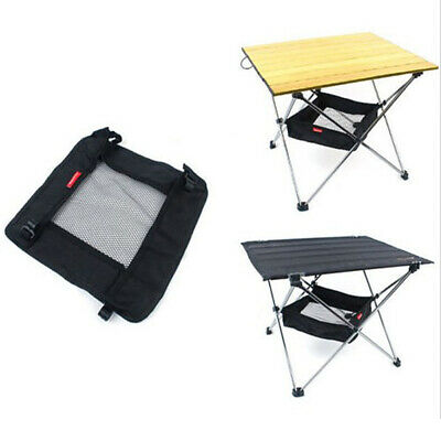 Camping Folding Table Storage Grid Outdoor Picnic Dining Stuff Storage Bag L