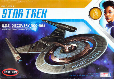 Star Trek U.S.S. Discovery NCC-1031 SnapIt 1:2500 Model Kit Polar Lights POL961