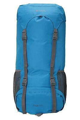 Mountain Warehouse Peak 65L Backpack - Padded Air Mesh Back Hip Belt and Strap