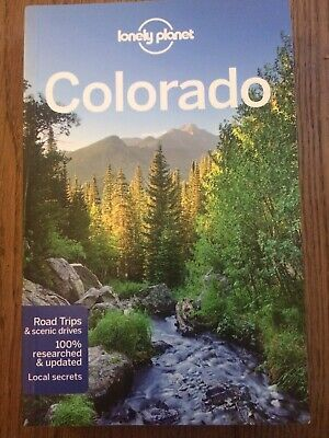 Colorado Road Trips & Scenic Drives -Lonely Planet Travel Guidebook.