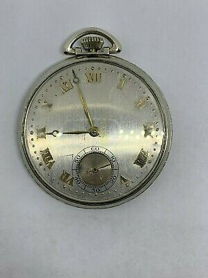Illinois 12s 19 Jewel Grade 437 circa 1919 very rare pocket watch