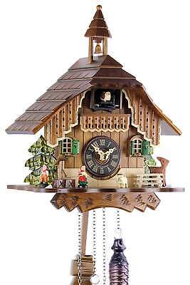 Black Forest House 29cm- Cuckoo Clock Cuckoo Clock Real Wood New Batter