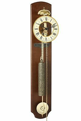 Hermle -lester II 68cm- 70992-030711 Analog Skeleton Clock with Metallräderwerk