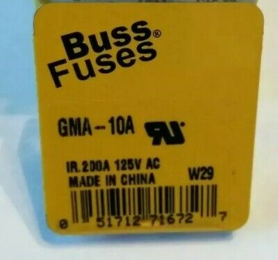 5 ATM FUSE HOLDER,H DUTY12G WIRE MADE BY LITTLE FUSE+COVER+5BUSS10 AMP FUSES.3.5