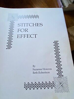 - Stitches For Effect by Howren & Robertson -A Needlepoint Stitch Guide