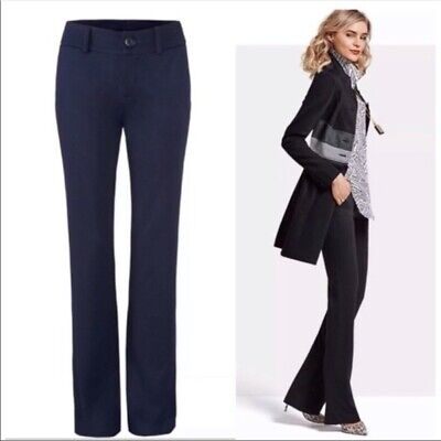 Cabi Navy Top Notch Trousers Career Pants 2