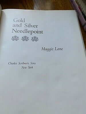 Gold & Silver Needlepoint by Maggie Lane- A Needlepoint Stitch Guide