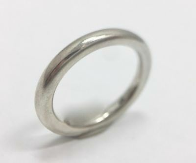 Retired Authentic Pandora Softly Spoken Band Ring Sterling Silver Size 7 ALE 925