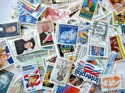 USA Lot of assorted OLD STAMPS 13 cent, 15 cent, 20 cent & 25 cents