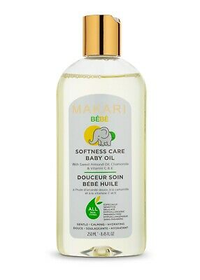 Makari Bebe Oil 8.45 fl. Oz – Enriched with Sweet Almond Oil, Chamomile