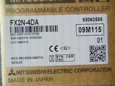 Mitsubishi PLC FX2N-4DA FX2N4DA NEW 2-5 days delivery