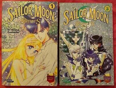 Sailor Moon Super S Tokyopop/Mixx Pocket Edition Manga