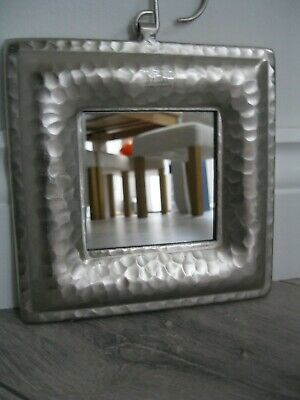 Arts & Crafts Style Casa Vivante Hammered Metal Framed Mirror/Picture Frame-NEW
