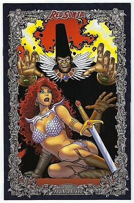 RED SONJA #1 2017 EBAS /& Nei Ruffino Exclusive Variant Ltd 200 *NM*
