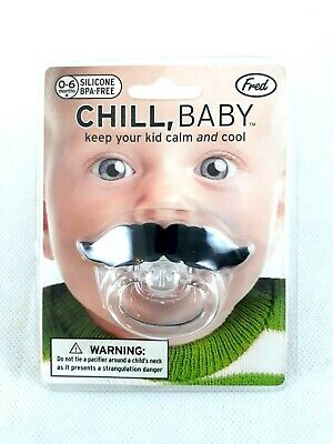 Fred Chill Baby Panic Pacifier Dummy PVC BPA Free Infant Silicone