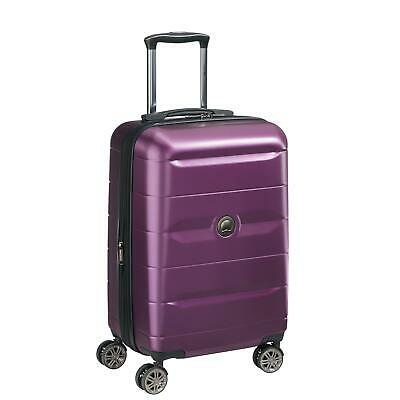 DELSEY Paris Comete 2.0 Expandable Rolling Carry On Luggage Suitcase, Purple