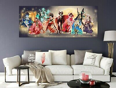 3D Cartoon Characters P12 Anime Character Wall Mural Decal Stickers Poster Amy
